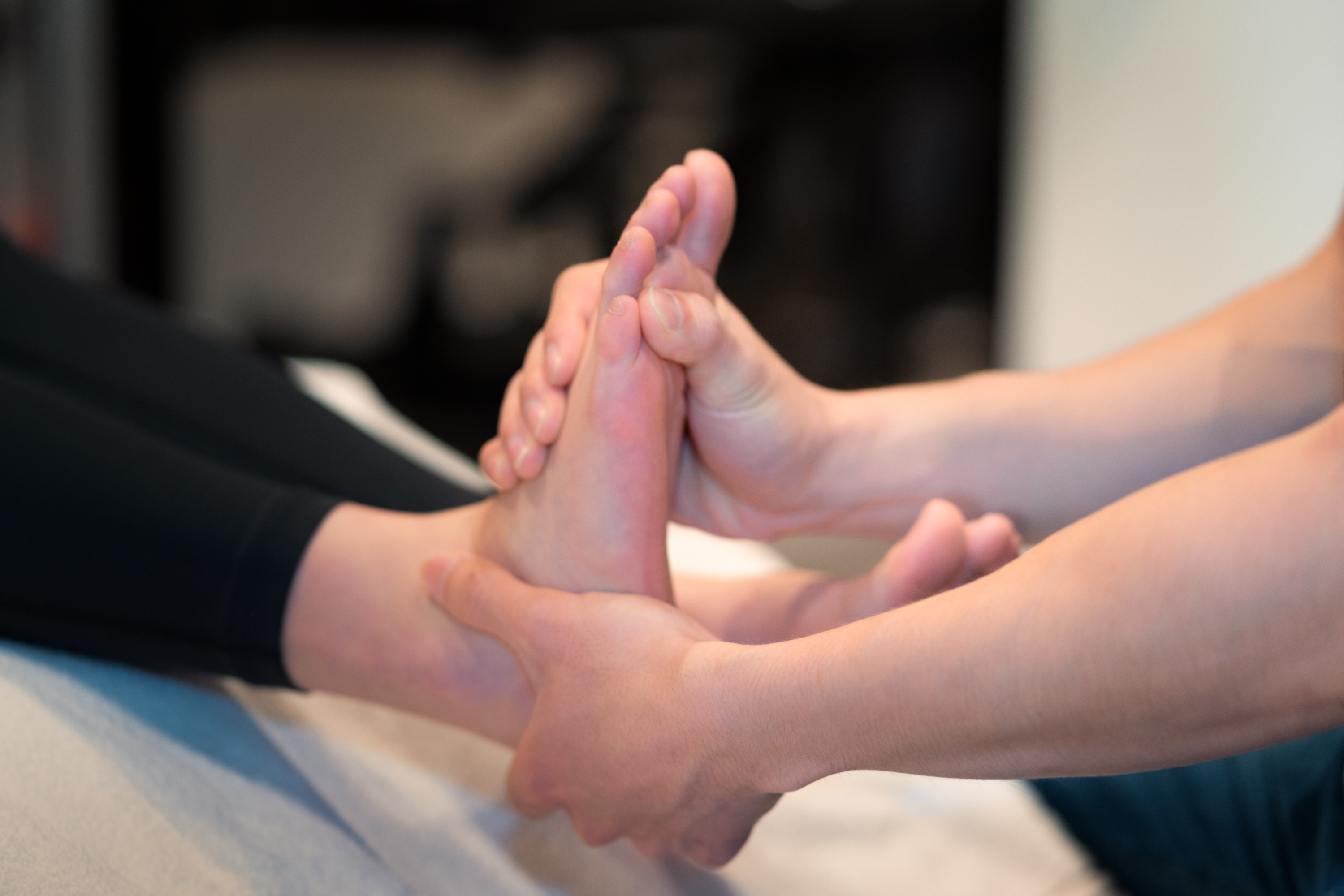 Anytime - foot massage
