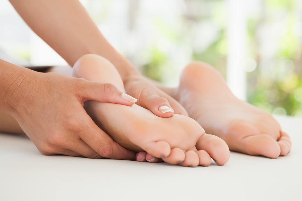 treating corn feet